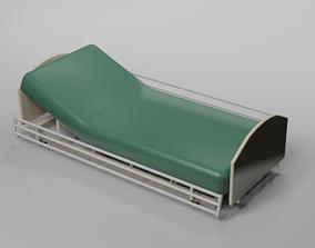 3D model Hospital Bed medical equipment