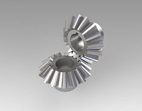 3D model Pinion conical cog