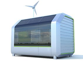 3D Autonomous house Ecobox