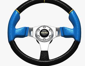 3D model Steering Wheel MOMO