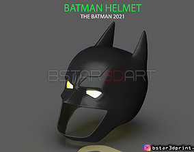 Batman Helmet-The Batman 2021-Robert 3D printable model 4