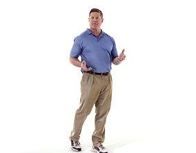 3D model Talking Man with Blue Shirt CMan0224-HD2-O01P01-S