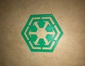 Sith Logo 3D Print Cut-Out