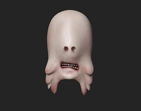The Pale Man Mask - Creepy Terror Character 3D model