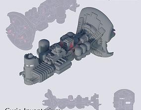 3D print model Space Freighter Cauldron