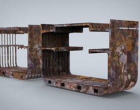 Construction Ship 3D model