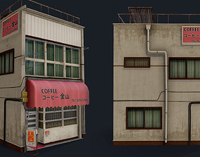 Coffee Shop of Kanayama 3D asset