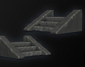 3D Stone Staircase