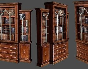 Decorative Book Case 3D model