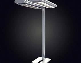 Twin Light Lamp Post 3D