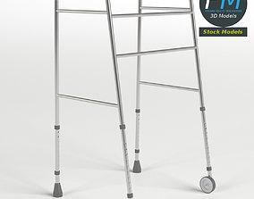 3D model Front-wheeled walker
