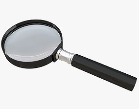 laboratory 3D model Magnifying Glass