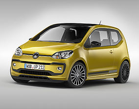 Volkswagen Up 2017 3D model