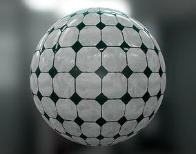 Floor tile 3D model PBR