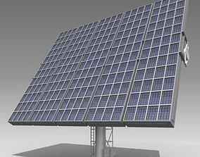 Solar Tower 3D model