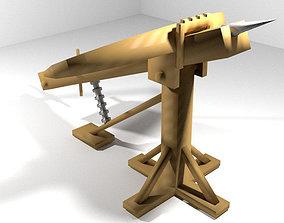3D model Medieval War Machine - Ballista