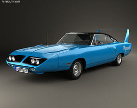 Plymouth Road Runner Superbird 1970 3D