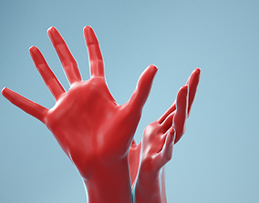 Releasing Realistic Hand Model 24 3D