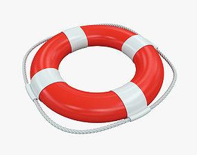 Lifebuoy rescue 3D model