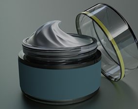 Cosmetic Jar 3D model