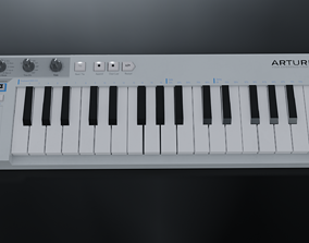 3D model Arturia KeyStep Midi Keyboard