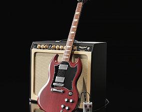 Gibson SG 3D model