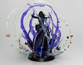 Avatar Korra Avatar State 3D print model Printable 1