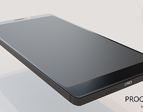 Realistic Mobile Phone Low-Poly 3D asset
