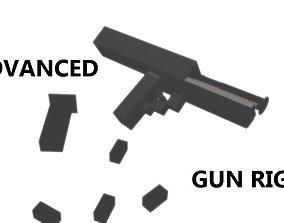 Advanced pistol model animated
