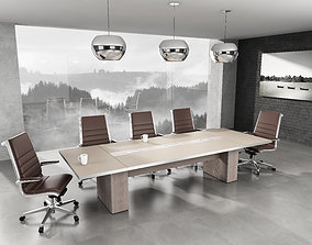 meeting room 3D interior