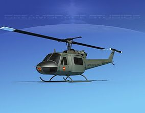 Bell UH-1B Iroquois US Army MACV 3D