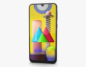 3D Samsung Galaxy M31 Space Black