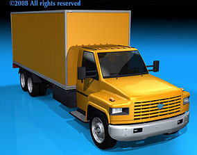 3D model Ln medium truck1