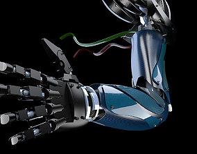 Robotic arm electronics 3D