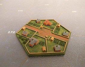 Hex Village 3D printable model