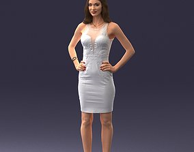 Fashion Woman 0714-2 3D Print Ready
