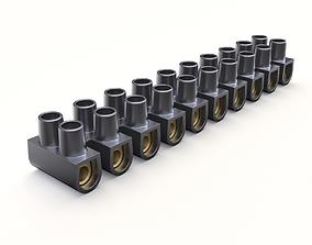 Terminal block clamp 3D model