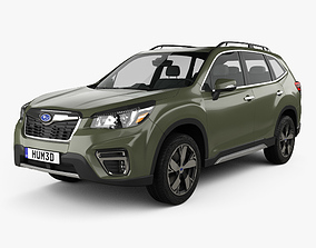 3D model Subaru Forester Touring 2018