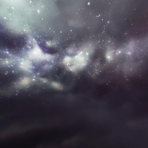 HDRI Panoramic Sky - 360 starfield 07