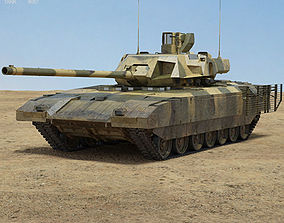 3D model T-14 Armata russian