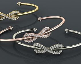 Bracelet 1 3D print model jewel