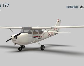 Cessna 172 3D asset