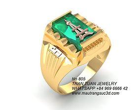 3D print model 805 Korea Men ring