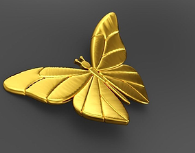 3D printable model Butterfly Necklace