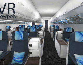 realtime airplane A330-300 interior kit Unity3d