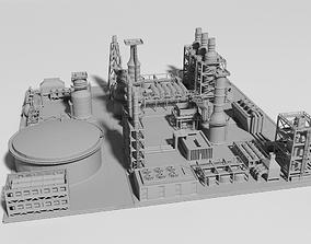 oil Factory for Print 3D printable model