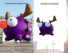 Minimoose and christmass edition minimoose 3D print model