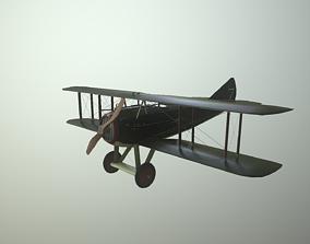 WWI fighter SPAD XIII 3D model
