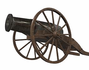 3D model Cannon 3