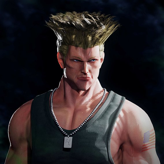 Guile – Street Fighter : Horizons